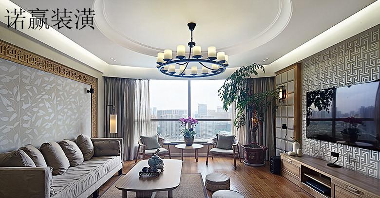 简中式客厅装修效果图